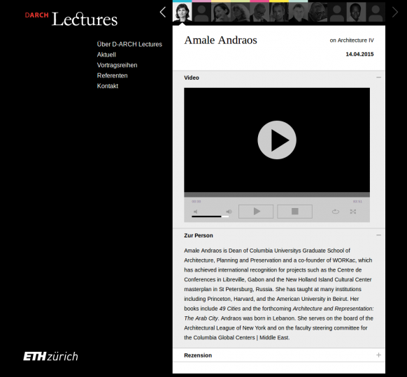 DARCH Lectures - Streams
